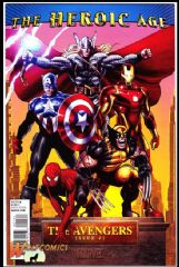 Avengers  #1 Cover B (2010 Series) *NM*